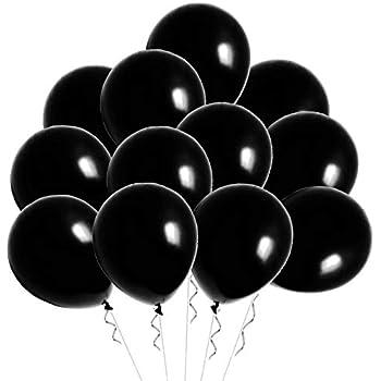 Creative Balloons Celebrity 9 Latex Decorator Midnight Black 144 Piece Creative Balloons Mfg 9DMB Inc