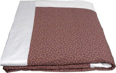 "J-Life Authentic Traditional Japanese Kakefuton (Kakebuton) Silk-Filled Comforter - Double Size (82"" x 92"") - Tombo Lavender"