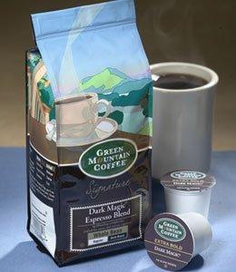 Green Mountain Tenebrous Magic Espresso Blend, Whole Bean, 12oz. Bag (Pack of 4)