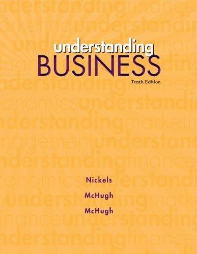 Understanding Buisness, 10th Edition