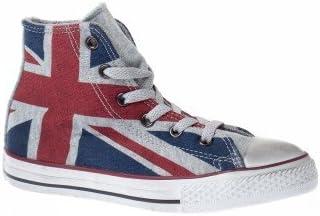 converse homme drapeau anglais