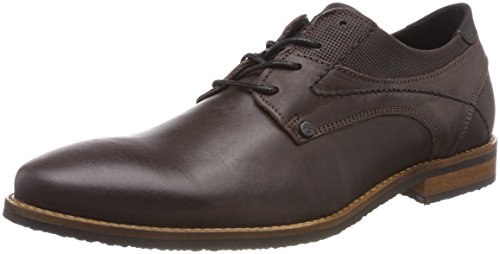 BULLBOXER Herren 6705a Derbys Braun (Brown)