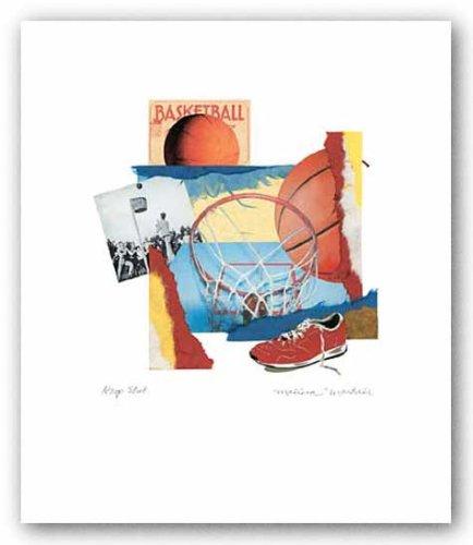 フープショットポスター印刷 B000MYJJ38