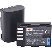 DSTE 2x DMW-BLF19 DMW-BLF19E DMW-BLF19PP Replacement Li-ion Battery for Panasonic Lumix DMC-GH3 GH3A GH3AGK GH3GK GH3H GH3HGK GH4 GH4H Camera