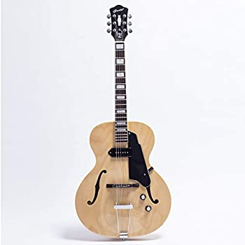 full size hollow body electric guitar with cable and picks transparent red. Black Bedroom Furniture Sets. Home Design Ideas