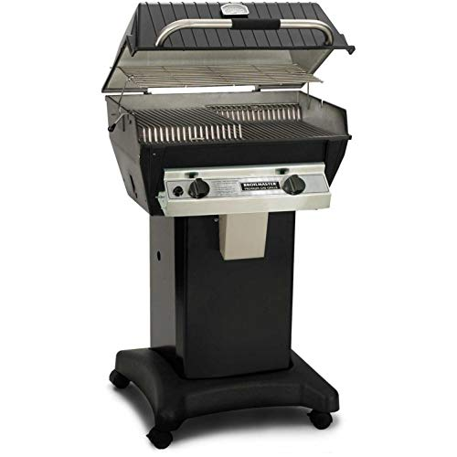 (Broilmaster R3b Infrared Combination Propane Gas Grill On Black)