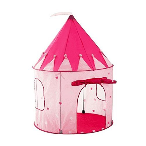 Adorox Pink Princess Castle Play Tent Childs Kid House Girl Fairy House New (Pink Fairy House) by Adorox