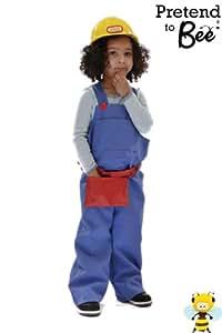 Builder - Disfraz de obrero para niño, talla 5 - 7 años (5060251121171)