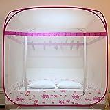 KE & LE Pop Up Hanging Mosquito Net, Mesh Canopy Curtains with Bottom Folding Mosquito Net Sleep Mosquito Tent Kids Boys Girls Anti Mosquito Mesh Canopy-b W:180cmxh:165cmxd:200cm