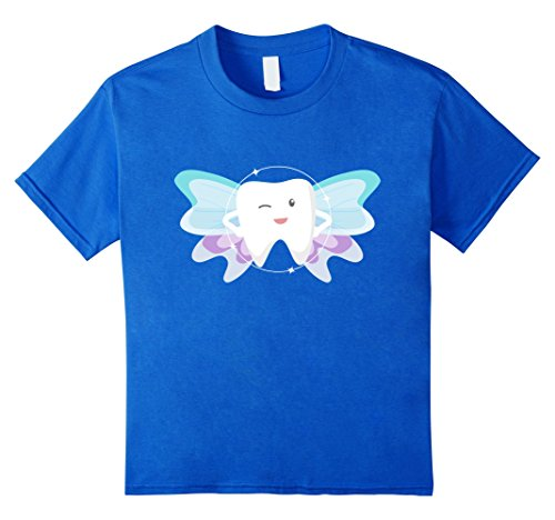 Kids Kids Tooth Fairy Godmother Fairy Tales Novelty T-Shirt 4 Royal (Fairy Godmother Costume Amazon)