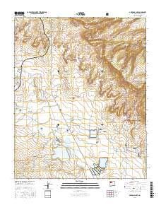 Ambrosia Lake, New Mexico topo map by East View Geospatial, 1:24:000, 7.5 x 7.5 Minutes, US Topo, 22.8