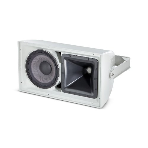 """JBL AW295   2Way All Weather Loudspeaker with 1 x 12"""" LF Rotatable Horn White from JBL"""