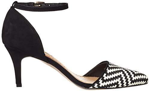 Miss KG Damen Brooke Pumps Schwarz (BLK/WHITE)