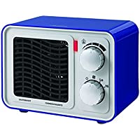 Sunbeam SFH5264MU-UM Retro Radio Heater Fan, Small, Blue