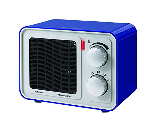 Sunbeam SFH5264MU-UM Retro Radio Heater Fan, Small, Blue (Small Fan Colorful compare prices)