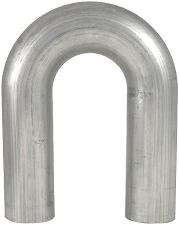 Vibrant 12601 1.5 Aluminized Mild Steel U-J Mandrel Bent Tubing