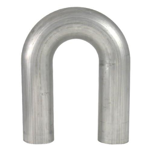 """1.25"""" OD 180 Deg. 304 Stainless Steel Mandrel U-Bend, 16 Gauge - 2"""" Radius, 6"""" Legs free shipping"""