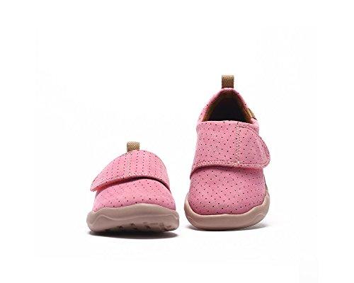 UIN Kid's Toledo Microfiber Casual Slip On Shoe (Little Kid) Pink yxEmgEKP