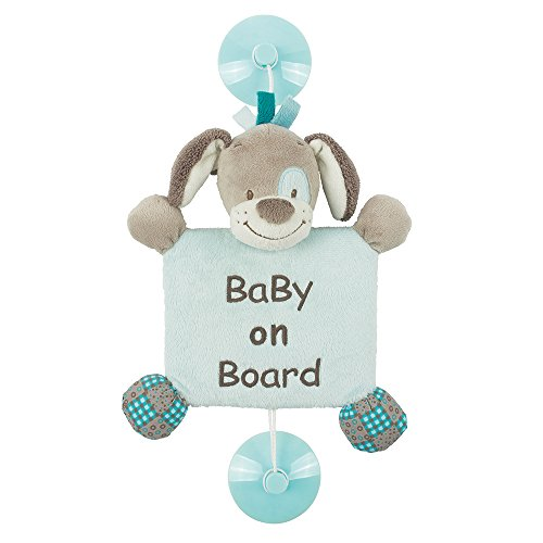 Nattou 531290 baby on board, Gaston & Cyril,  Cyril le chien