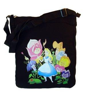 Alice In Wonderland Tote Bag - Alice In Wonderland Canvas Tote Handbag Purse