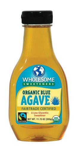 Les édulcorants sains organique Agave bleu, la lumière, bouteilles 11,75 onces (pack de 6)