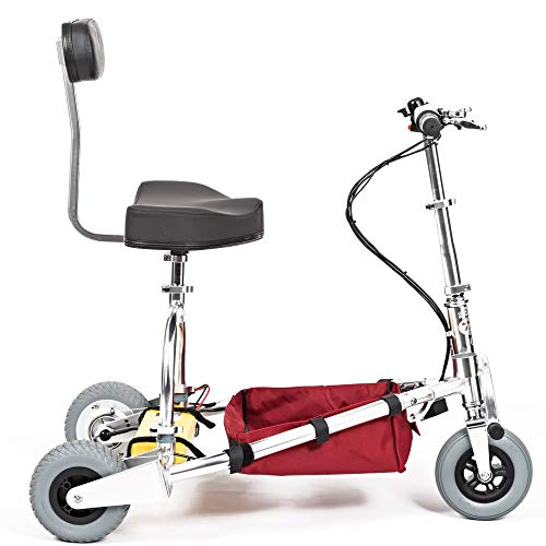 TravelScoot: World's Lightest and Strongest Mobility Scooter 35 lbs Airline-Approved (350 lb. Weight Limit) 2-Year Warranty