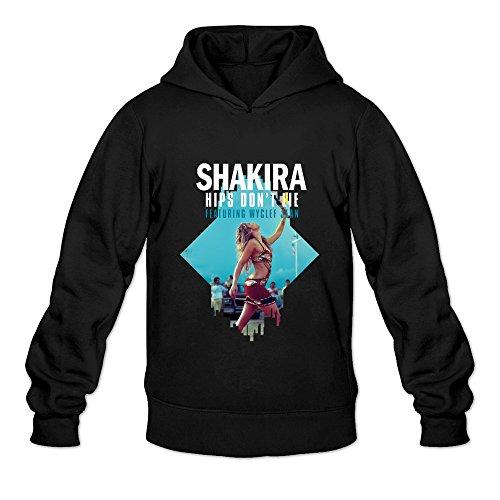 Men's Shakira Hips Don't Lie Poster Sweater Size XXL Black ()