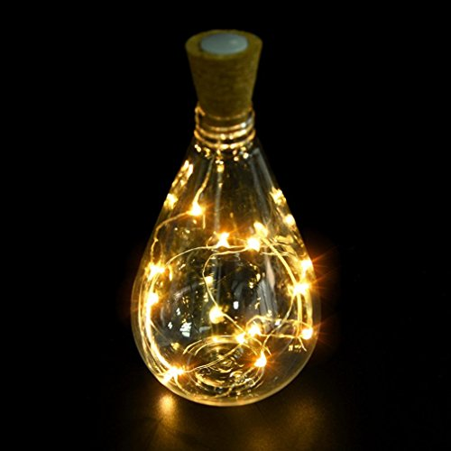 Emission Harness Wiring (Kanzd Cork Shaped 15 LED Night Light Starry Lights Wine Bottle Lamp For Party Colorful (15 LED C))