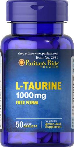 Puritan's Pride Taurine 1000 mg-50 Caplets