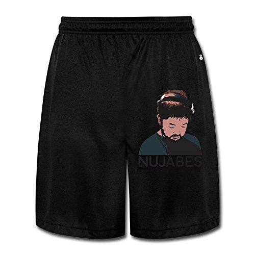 KEIOPO Men's Hip-Hop Shorts Sweatpants