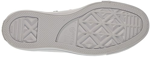Converse Blanc CTAS Silver White Sneakers Femme Ox White awanSAprq