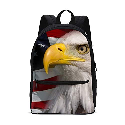 American Eagle Girls Backpacks School kids Bookbag Children Travel Shoulder Bag Casual Daypack 17 Inch Plus Laptop Bag for Unisex Teens Women Boys