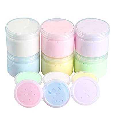 Rubyyouhe8 Stress Relief Toys&50g Funny Ice Cream Cloud Cotton Clay Mud Kids DIY Toy Adult Anti Stress Gift - Pink Fiddle Toys for Boys Girls Kids Adults Finger Exercise: Toys & Games