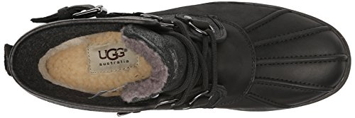 Boots Black Ugg Cecile Womens Australia Leather w4qgryIXq