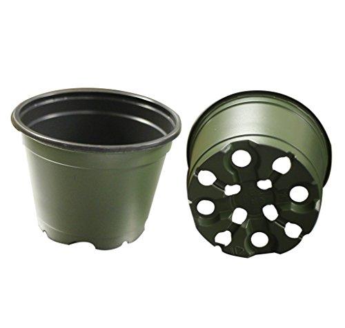 30 NEW 4 Inch TEKU Plastic Nursery Pots - Azalea Pot