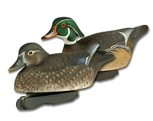 - Final Approach FA Gunners HD Wood Duck Decoys, 6 Pack