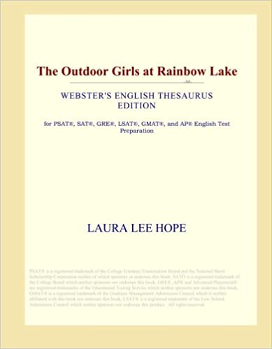 The Outdoor Girls at Rainbow Lake (Webster's English Thesaurus Edition)