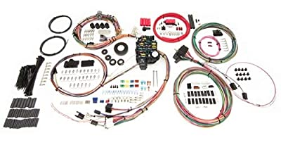 Painless Wiring 20205 27 Circuit Classic-Plus Customizable Chassis Harness; 27 Circuits; 18 Fuses w/Horn Relay; Bulkhead Connector Firewall Pass-Through; Supersedes From PN[10205];