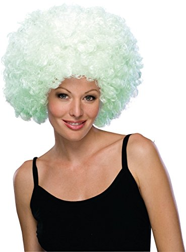 Rubie's Glow-In-The-Dark Supersize Afro Wig, Multicolor, One
