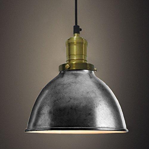 Silver Dome Pendant Light - 9