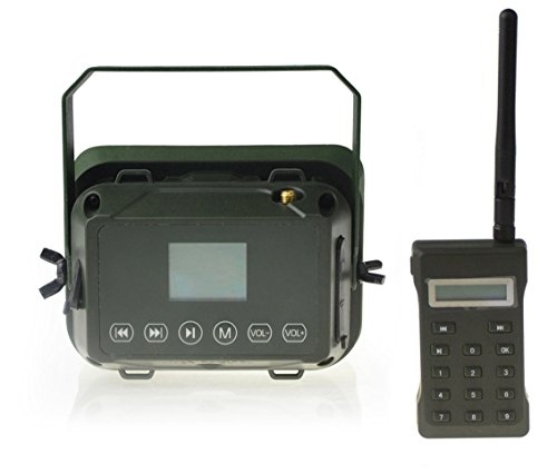 Outdoor Hunting MP3 Player Bird Decoy Caller 60W 160dB Loud Speaker Waterproof + 500M Remote by Up Force (Image #2)