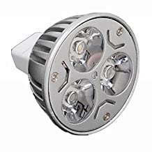 ZQ Mini light bulbs Dimmable MR16 3W 300-330LM LED Spot Bulb (AC/DC 12V) , cold white