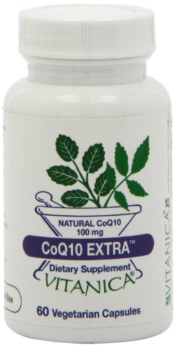 Vitanica Coq10 Extra Capsules, 60-Count