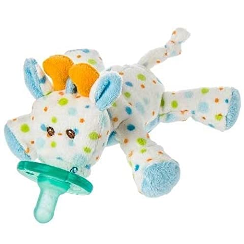 New Mary Meyer Wubbanub Infant Baby Soothie Pacifier ~ Little Stretch Giraffe (Mary Meyer Wubbanubs)