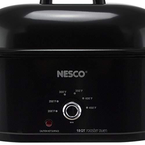 NESCO MWR18-14, Roaster Oven, 18 Quarts, Black by NESCO (Image #3)