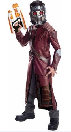 Disney Marvel Guardians Of The Galaxy Child Costume Star Lord Boys Small 6