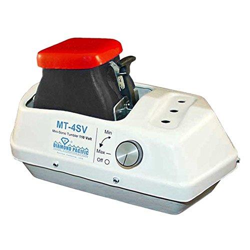 Diamond Pacific MT-4SV Mini-Sonic Vibrating Rock Tumbler