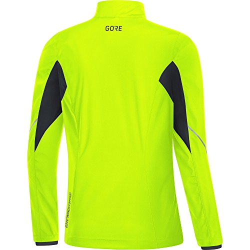 Gore Women's R3 Wmn Partial Gws Jacket, neon Yellow/Black, M by GORE WEAR (Image #3)