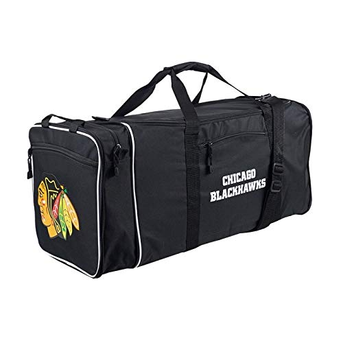 Chicago Blackhawks Bag - Officially Licensed NHL Chicago Blackhawks Steal Duffel Bag