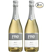 Sutter Home Fre Brut Non-alcoholic Champagne Wine Two Pack (Pack of 2)